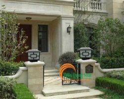 Cách chọn đèn trụ cổng phù hợp với ngôi nhà của bạn