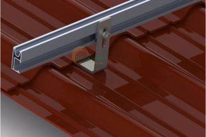 Thanh rail nhôm pin năng lượng mặt trời