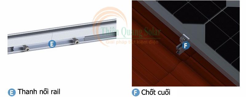 Cách lắp pin năng lượng mặt trời trên mái ngói
