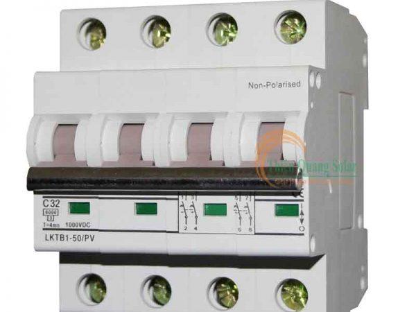 CB DC 1000V DC chuyên dụng cho điện năng lượng mặt trời