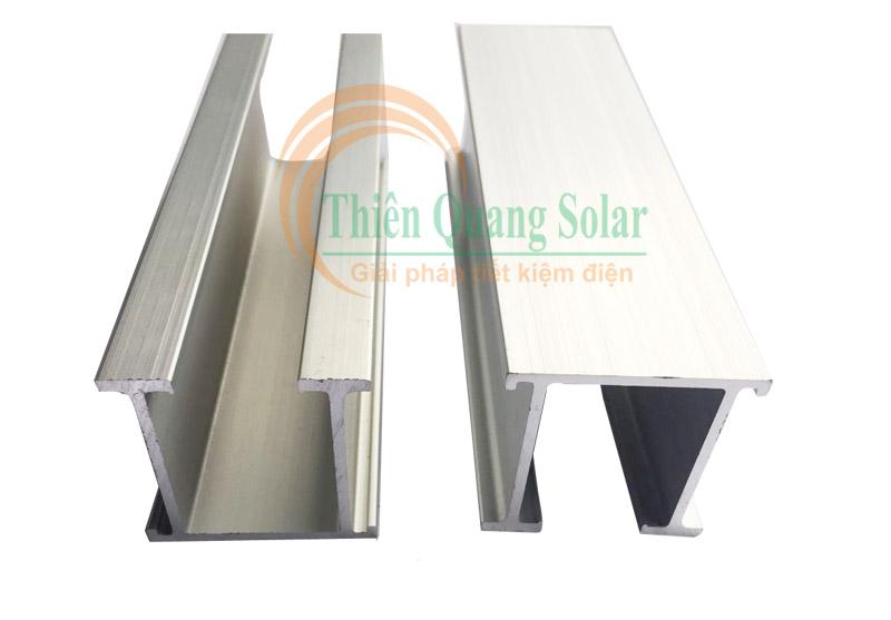 Các phụ kiện lắp pin mặt trời mái tôn mới nhất nắm 2021