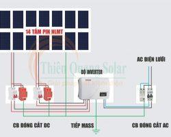 Cách đấu tủ điện năng lượng mặt trời