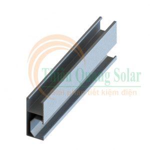 Thanh rail nhôm năng lượng mặt trời 4m2 AL6005-T5
