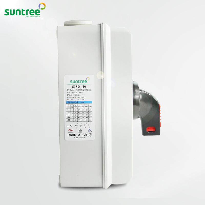Bộ ngắt mạch cách ly Isolator DC 32A Suntree