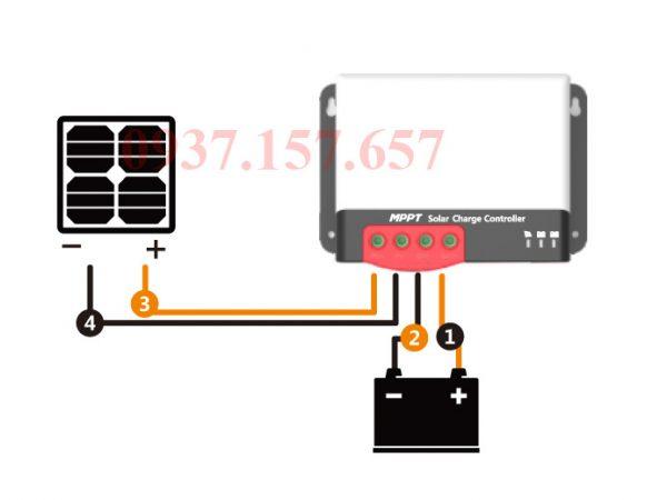 Bộ điều khiển sạc MPPT SR-MC2450N10 SRNE